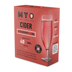 Strawberry & Lime Cider